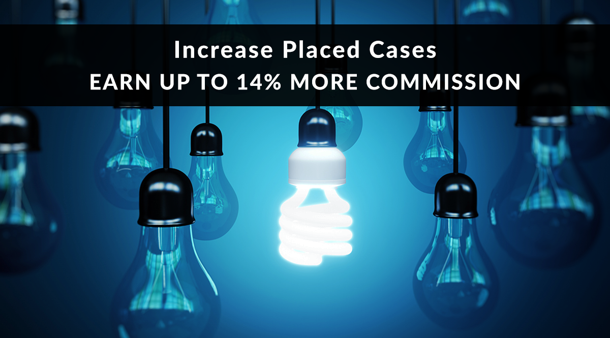 Increase Cases You Earn Commission on up to 14%