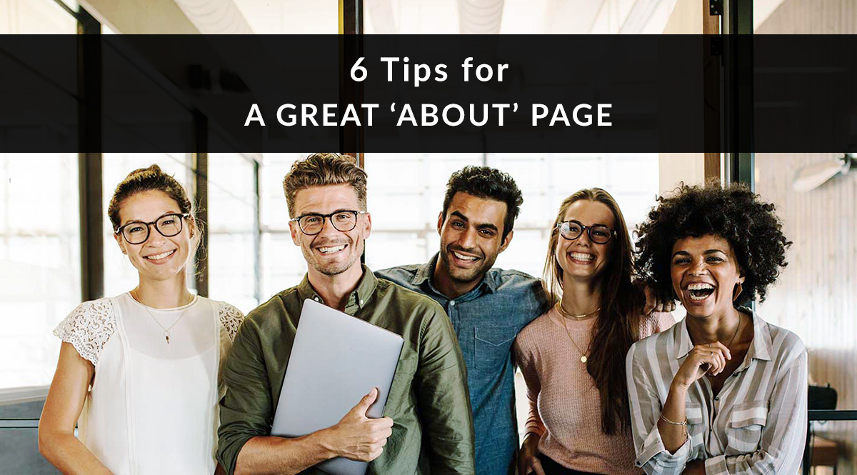 6 Tips for a Great 'About' Page