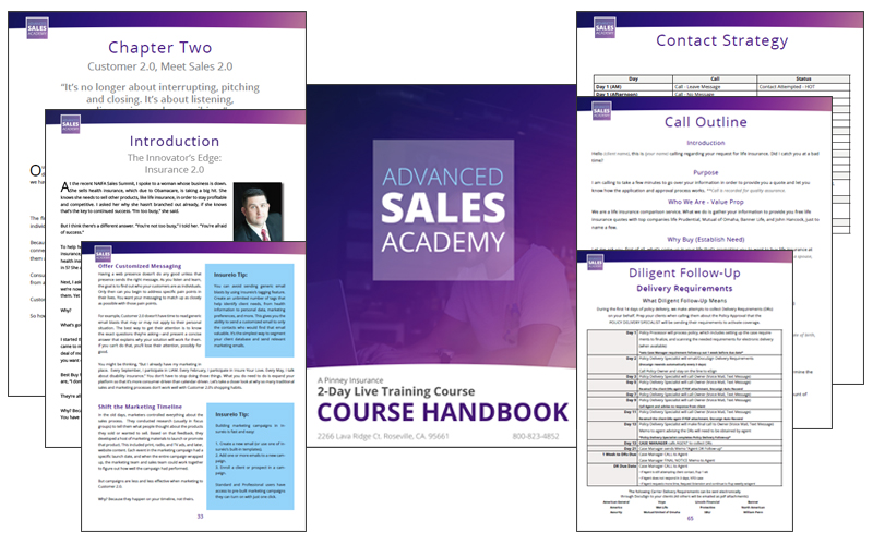 Advanced Sales Academy Handbook