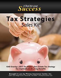 April 2017 Sales Kit: Tax Strategies