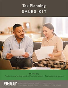 April 2021 Sales Kit: Income Tax Planning