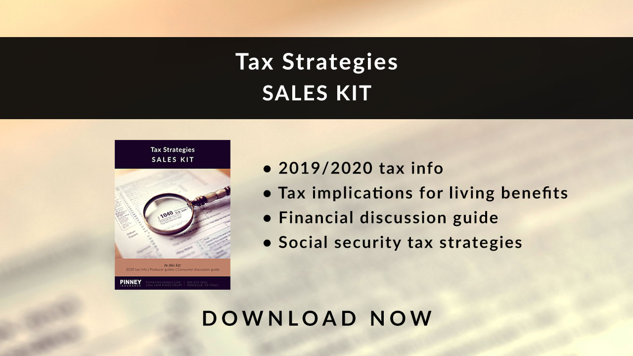 April 2020 Sales Kit: Tax Strategies