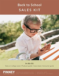August 2021 Sales Kit: Back to School