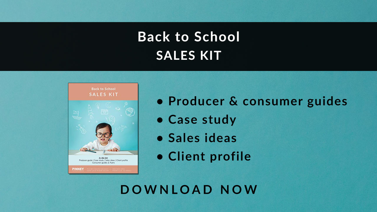 August 2019 Sales Kit: Back to School