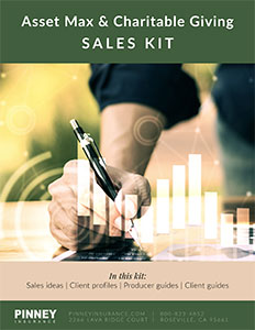December 2019 Sales Kit: Asset Maximization and Charitable Giving