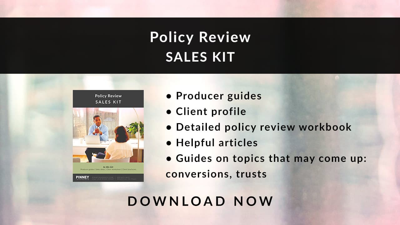 December 2020 Sales Kit: Policy Review