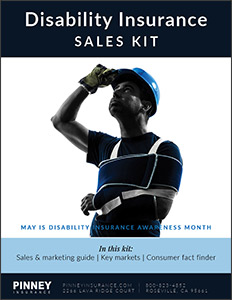 May 2018 Sales Kit: Disability Insurance