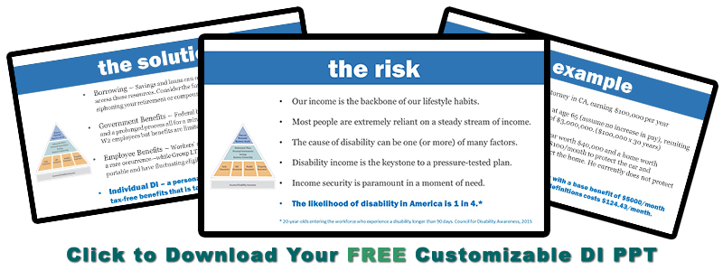 Download Your FREE Customizable DI PPT from Pinney Insurance