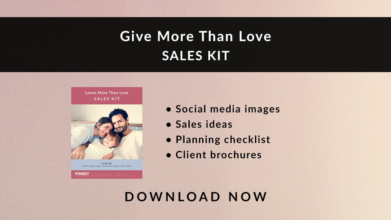 February 2021 Sales Kit: Give More Than Love