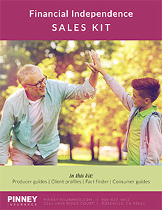 July 2020 Sales Kit: Financial Independence