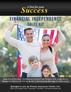 July 2017 Sales Kit: Creating Financial Independence