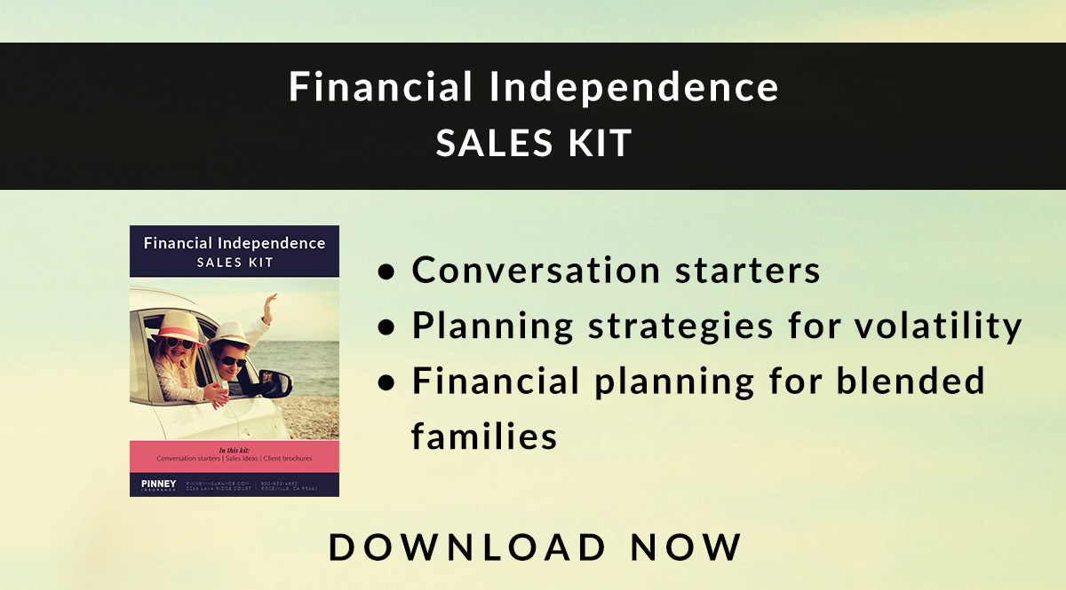July 2018 Sales Kit: Financial Independence