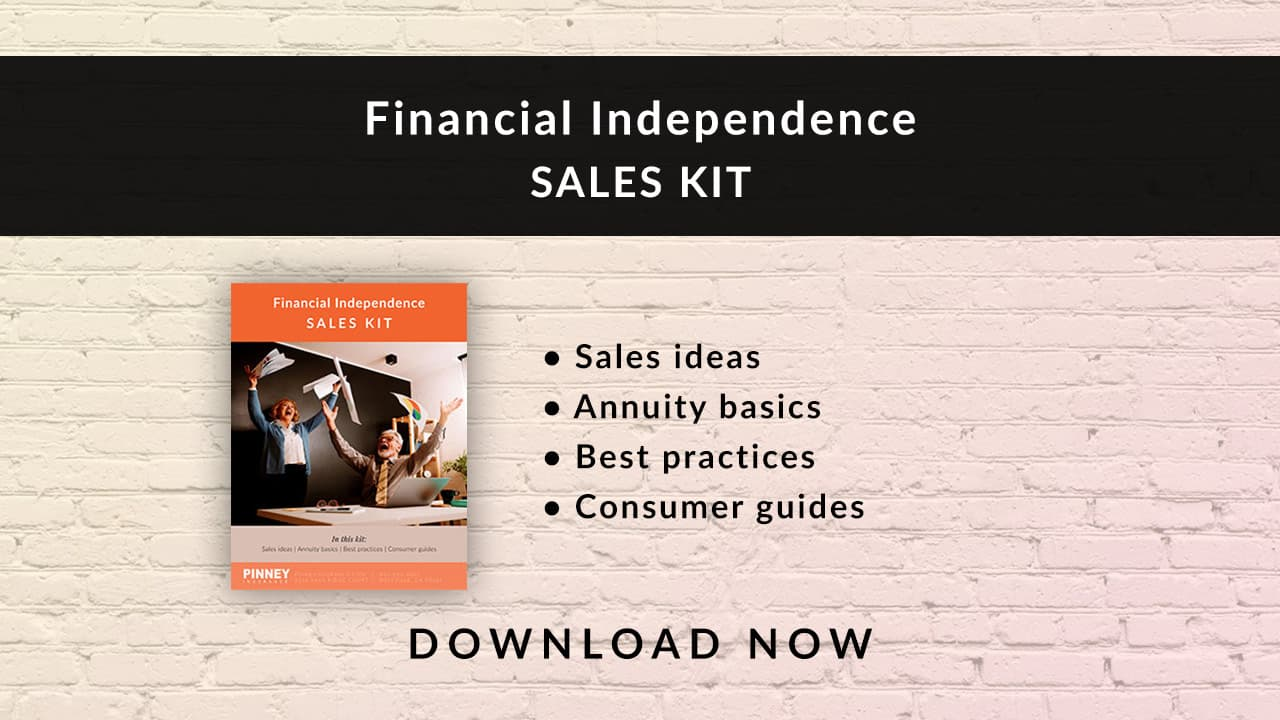 July 2021 Sales Kit: Financial Independence
