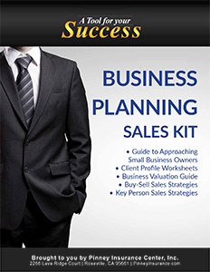 Business Planning Sales Kit Cover