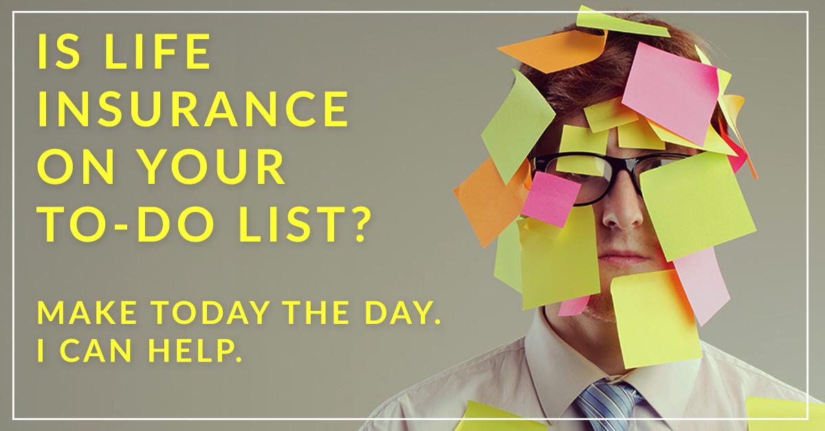 Social media image in the September 2017 Life Insurance Awareness Month Sales Kit