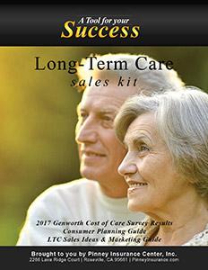 Pinney Insurance Center November 2017 Sales Kit: Long-Term Care