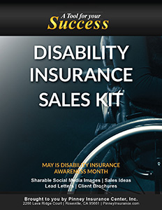 May 2017 Disability Insurance Sales Kit