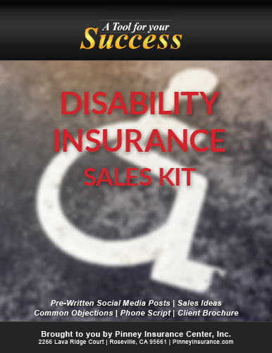 Disability Insurance Sales Kit Cover