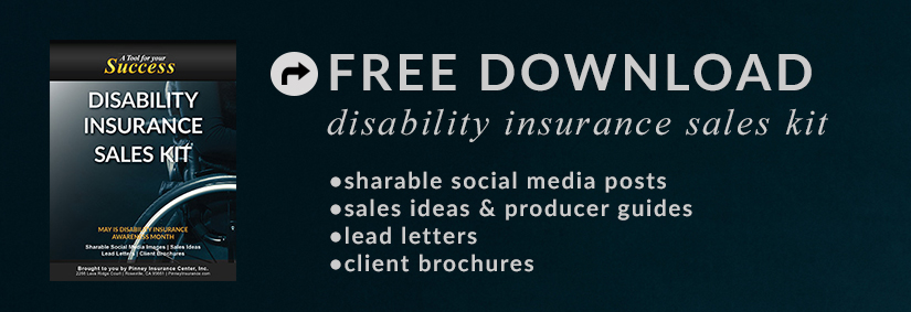 May 2017 Sales Kit: Disability Insurance