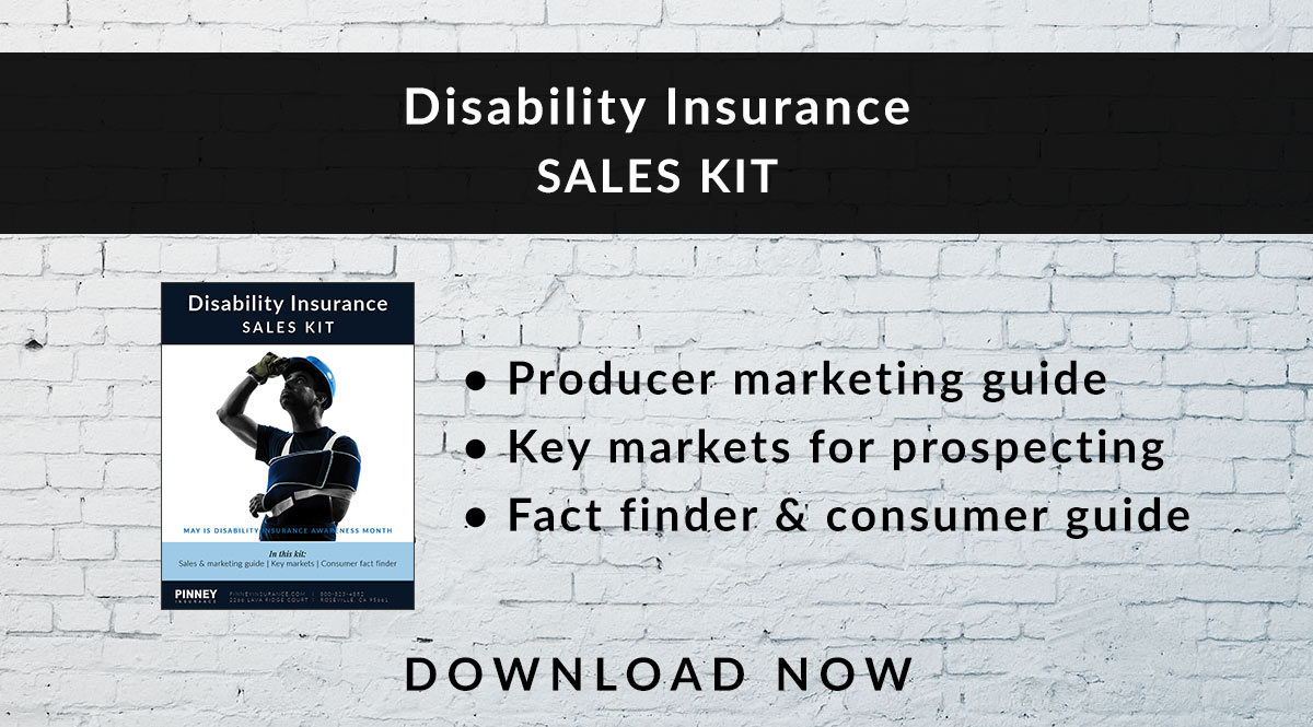 May 2018 Sales Kit: Disability Insurance