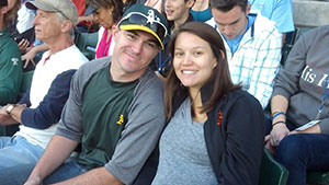 Pinney staff at River Cats