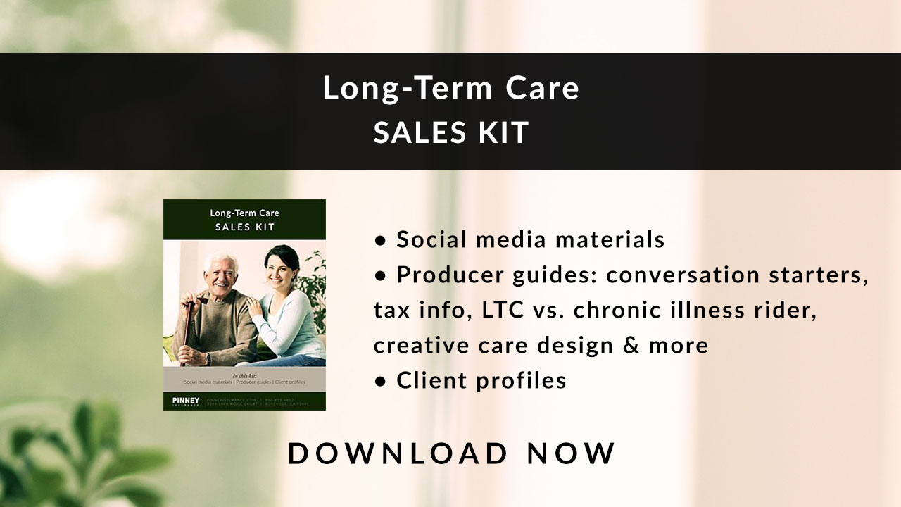 November 2019 Sales Kit: Long-Term Care
