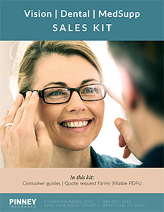 Sales Kit: Vision, Dental, Medicare Supplement