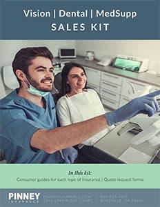 Sales Kit: Vision, Dental, Medicare Supplement