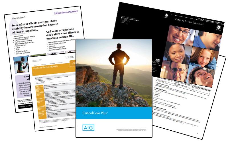 October Sales Kit: Critical Illness Insurance