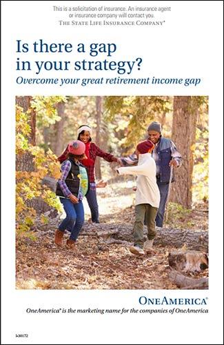 OneAmerica LTC marketing campaign brochure