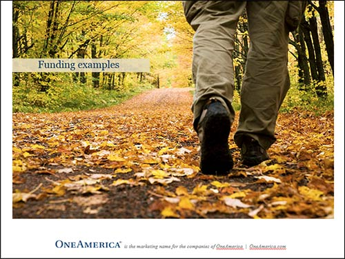 OneAmerica LTC marketing campaign client presentation