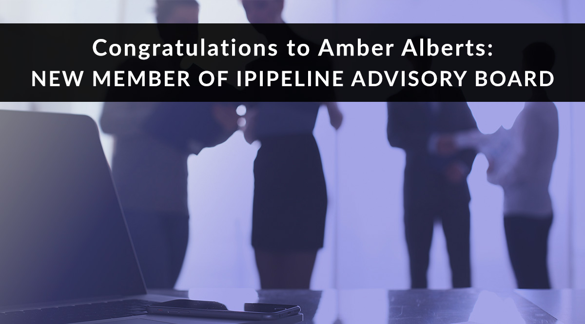 Amber Alberts Named to iPipeline Advisory Board