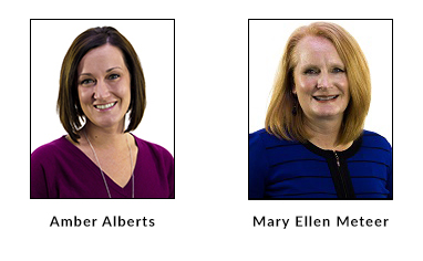 Sell More Life Insurance with a Better BGA: Our New Business Manager, Amber Alberts, and our Case Manager Supervisor, Mary Ellen Meteer
