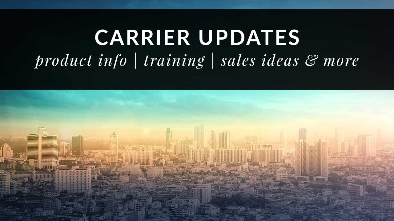 April 2021 Carrier Updates