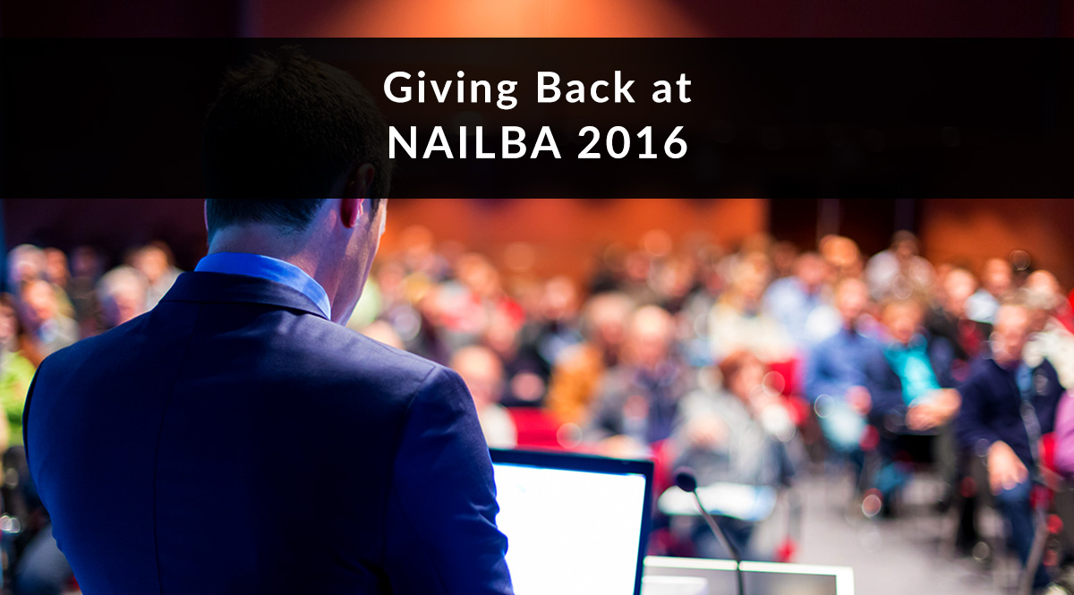 Giving Back at NAILBA 2016