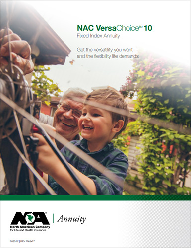 North American VersaChoice10 Annuity Consumer Brochure