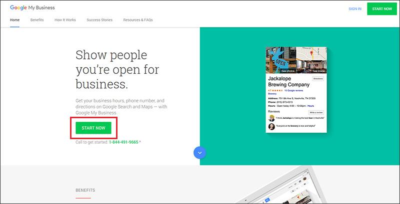 Google My Business login