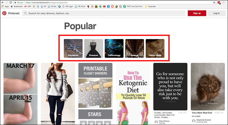 Pinterest Categories: How To Use Pinterest To Reach Your Niche Market