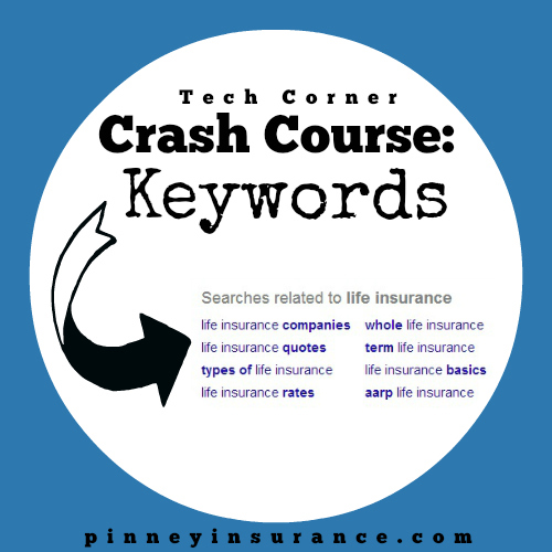 Tech Corner Crash Course: Keywords