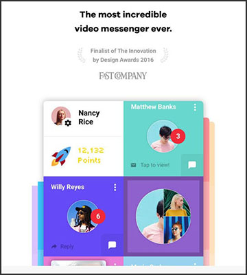 Use Tribe for video messaging
