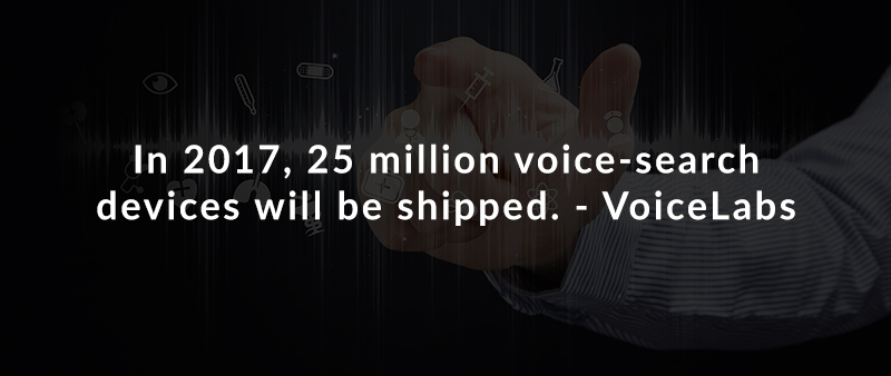 In 2017, 25 million voice-search devices will be shipped. – VoiceLabs