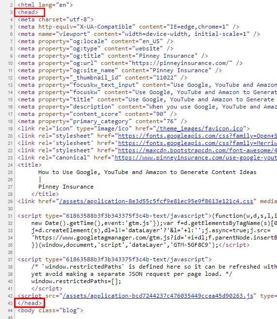 Screenshot of Schema.org's schema validation tool